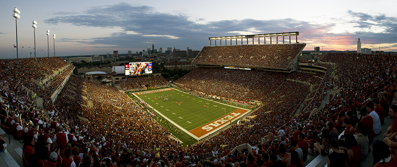 Darrell K Royal Texas Memorial Stadium By The Numbers Austin Monthly Magazine