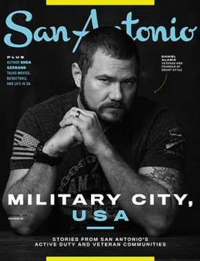 San Antonio Magazine November 2019 Cover