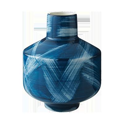 Libra Blue and White Vase. CB2, $14.95