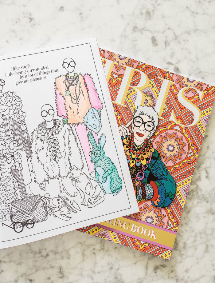 Iris Apfel's New Coloring Book Benefits Aspiring Fashion Students - Austin  Monthly Magazine