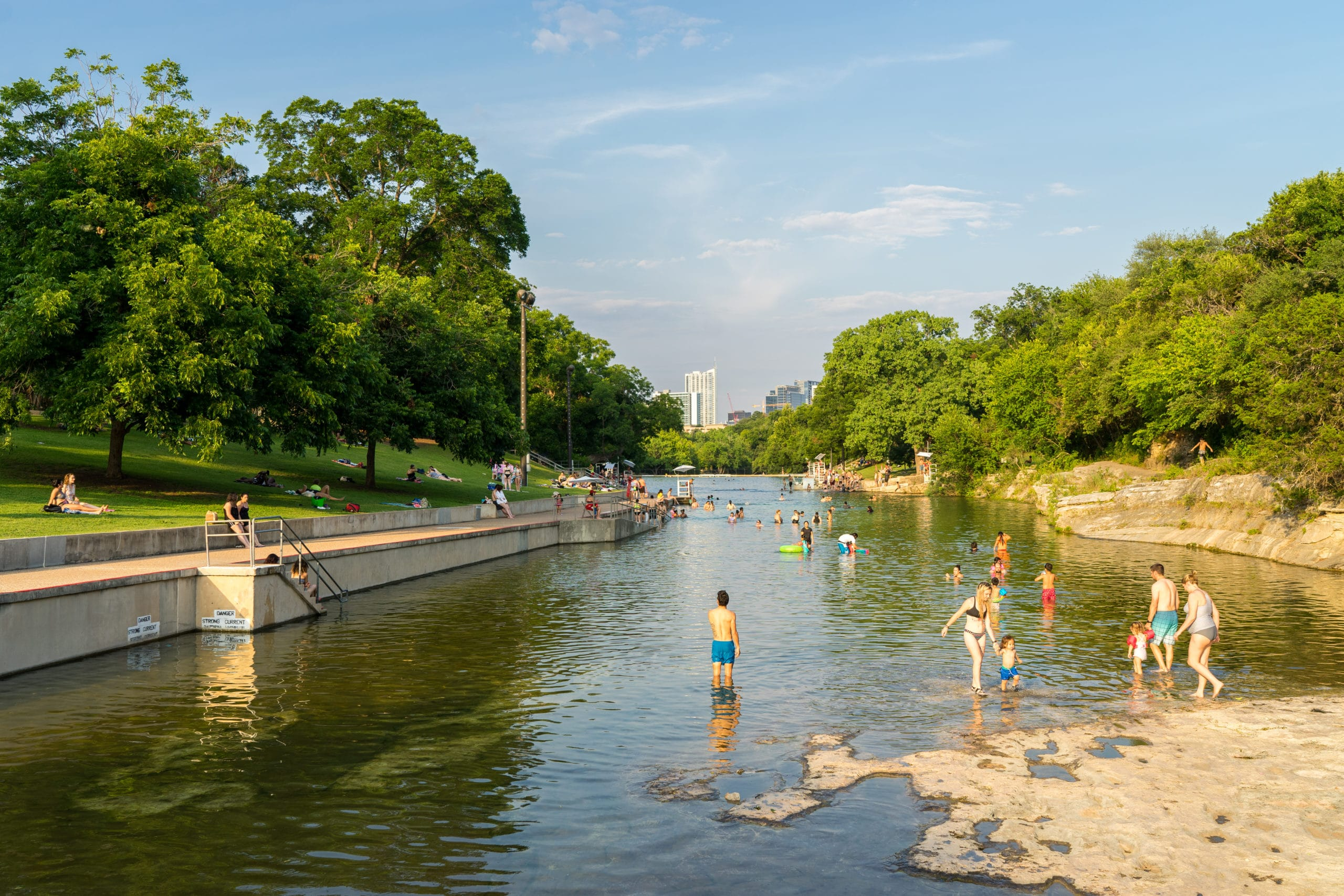 Pools are Reopening in Austin. Here's Where (and When) to Go. - Austin Monthly Magazine