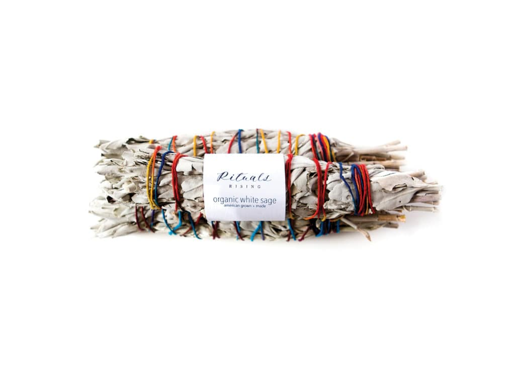 Burn some sage for a home-cleansing ritual. Rituals Rising Organic White Sage ($12) at ritualsrising.co