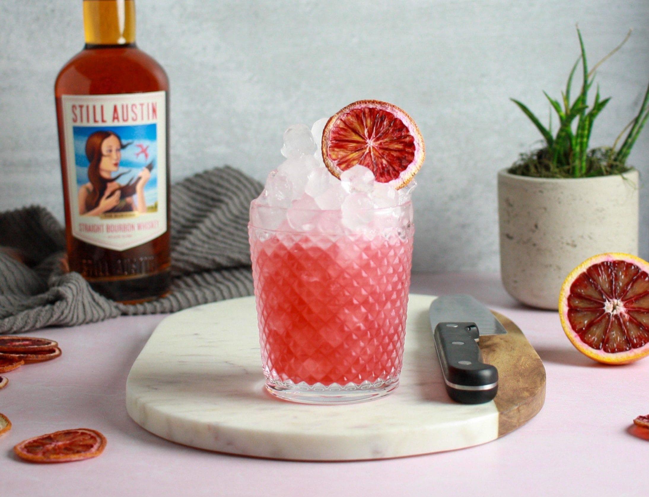 How to Make Still Austin Whiskey's Spiced Blood Orange Sour - Austin Monthly Magazine